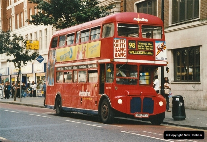 London Buses 1963 to 2007.  (635) 635