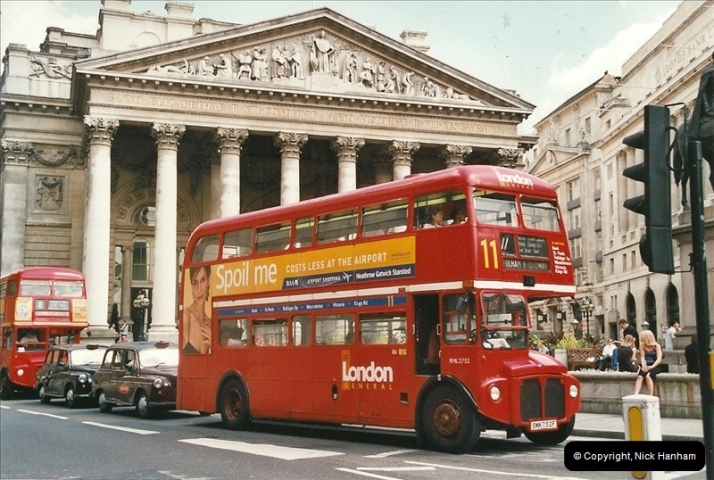 London Buses 1963 to 2007.  (638) 638