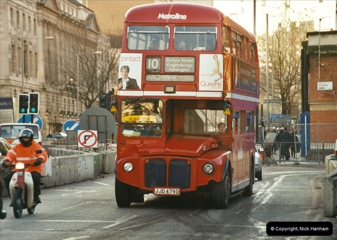 London Buses 1963 to 2007.  (641) 641