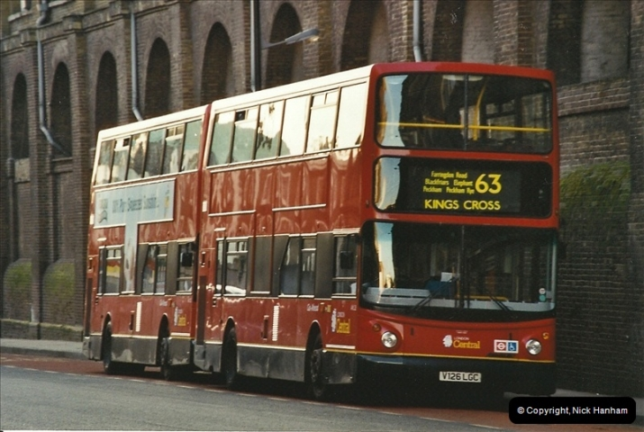London Buses 1963 to 2007.  (643) 643