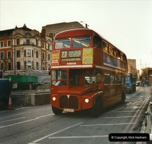 London Buses 1963 to 2007.  (644) 644
