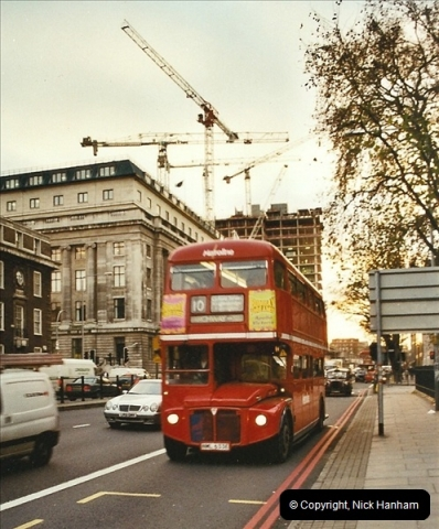 London Buses 1963 to 2007.  (648) 648