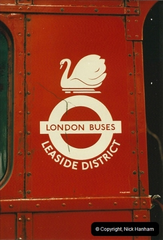 London Buses 1963 to 2007.  (65) 065