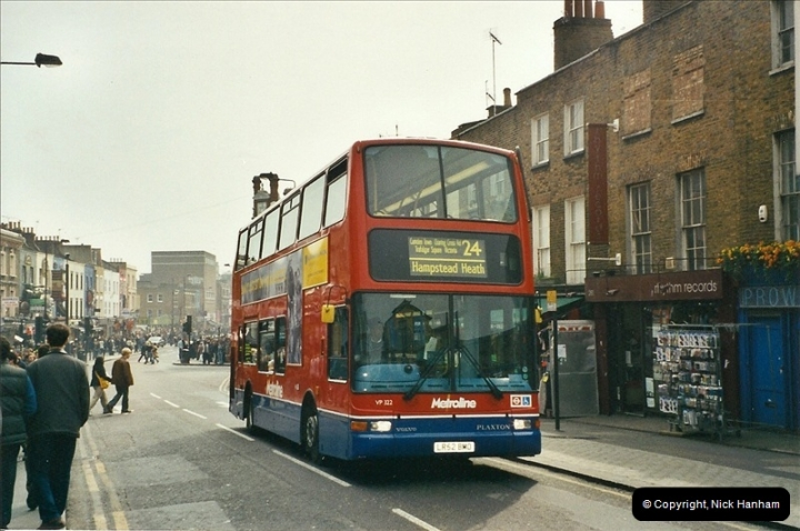 London Buses 1963 to 2007.  (658) 658