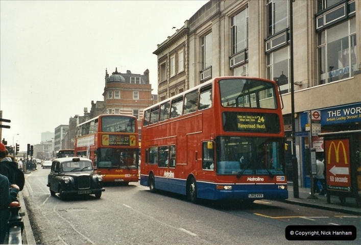 London Buses 1963 to 2007.  (661) 661