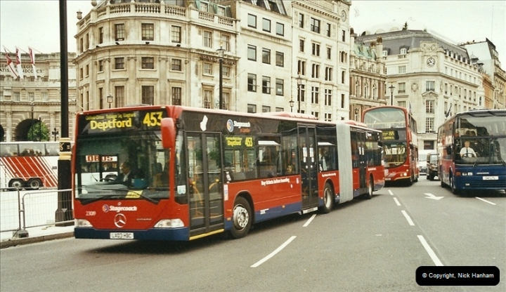 London Buses 1963 to 2007.  (668) 668