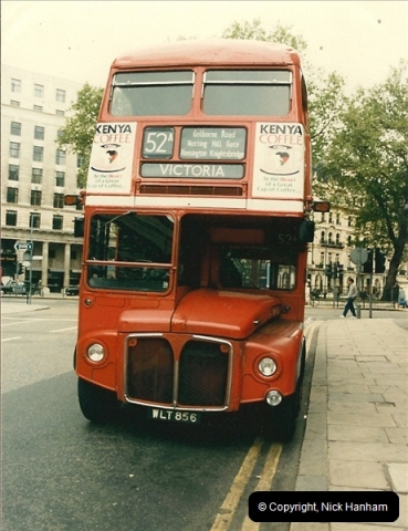 London Buses 1963 to 2007.  (67) 067