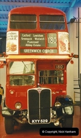 London Buses 1963 to 2007.  (673) 673