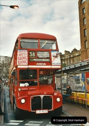 London Buses 1963 to 2007.  (684) 684