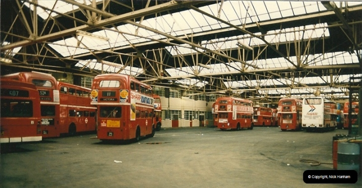 London Buses 1963 to 2007.  (73) 073
