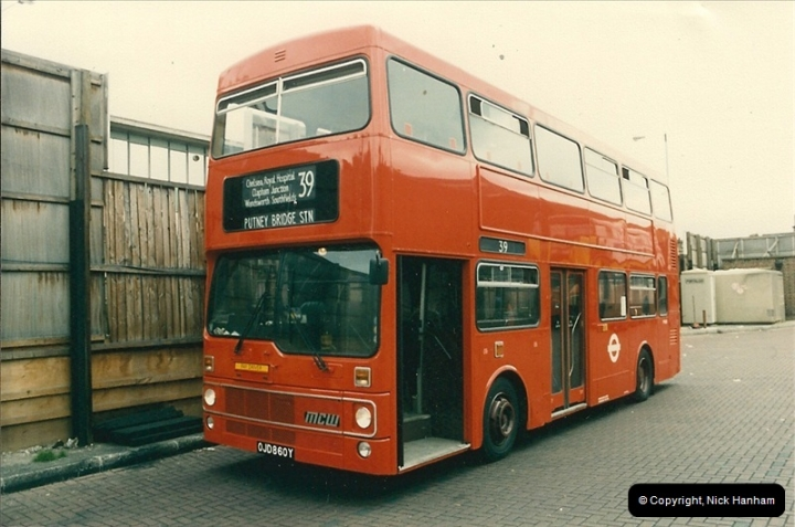 London Buses 1963 to 2007.  (78) 078