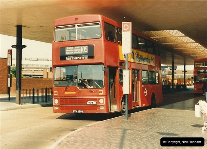 London Buses 1963 to 2007.  (84) 084