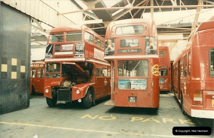 London Buses 1963 to 2007.  (85) 085
