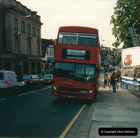 London Buses 1963 to 2007.  (94) 094
