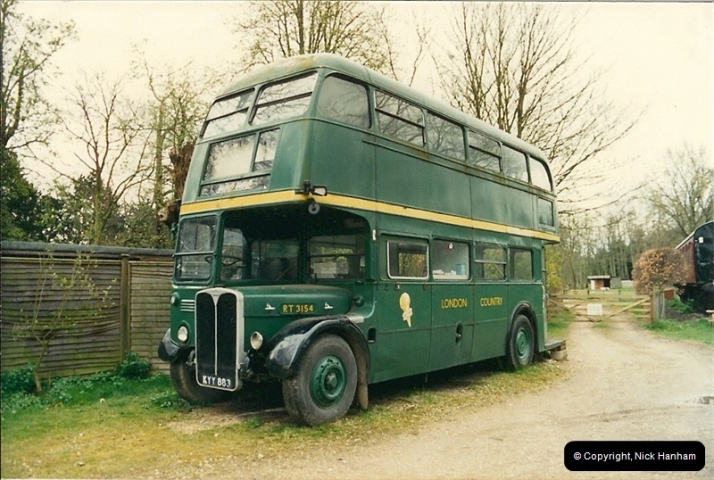 London Buses 1963 to 2007.  (96) 096