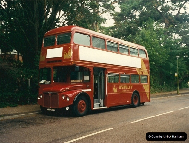 London Buses 1963 to 2007.  (97) 097