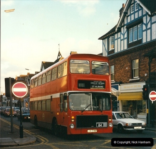 London Buses 1963 to 2007.  (99) 099