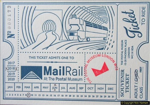 2018-06-09 Mail Rail, Mount Pleasant, London.  (150)150