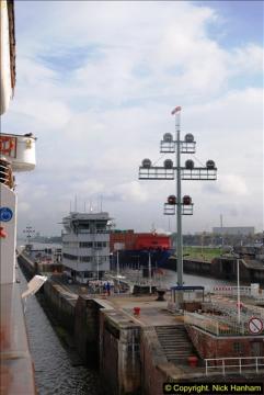 MV Marco Polo (3) Kiel-Canal-Transit 09 October 2014