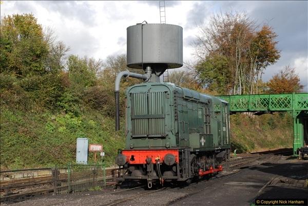 2016-11-10 Mid Hants Railway, Ropley Shed.  (12)046