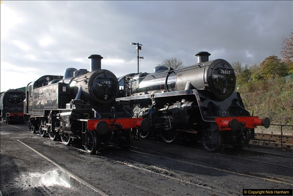 2016-11-10 Mid Hants Railway, Ropley Shed.  (13)047