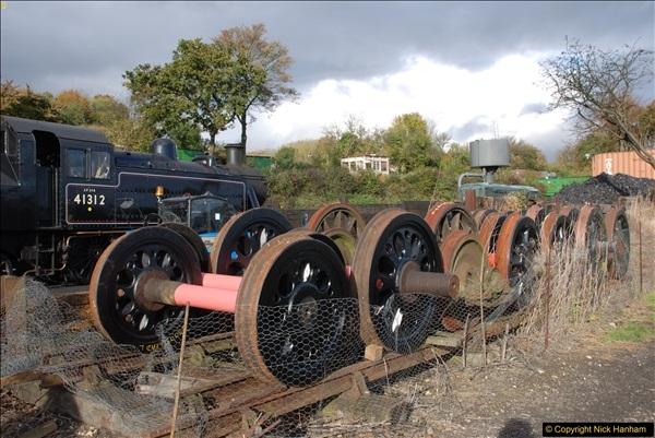 2016-11-10 Mid Hants Railway, Ropley Shed.  (9)043