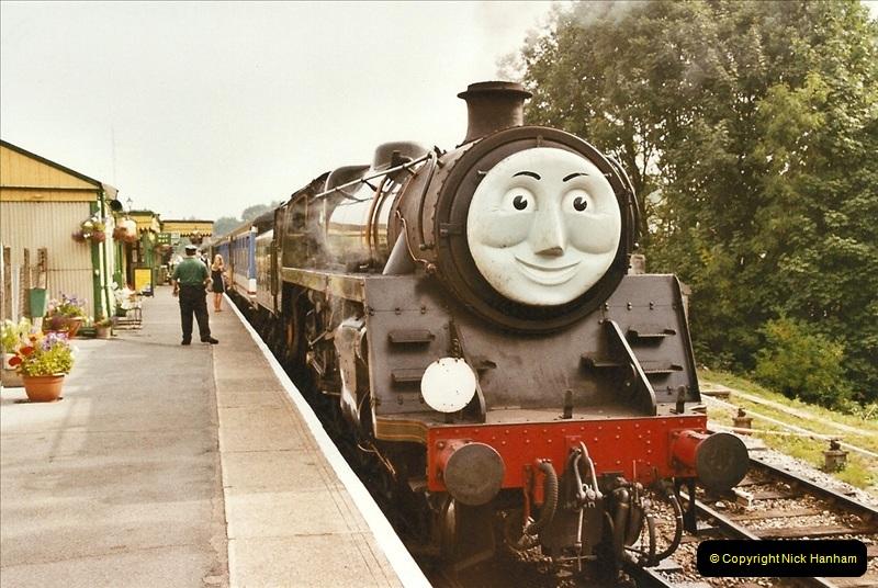 2003-08-12 Thomas week on the Mid Hants Railway.  (1)014