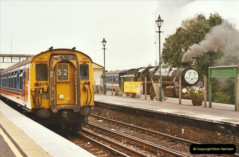 2003-08-12 Thomas week on the Mid Hants Railway.  (3)016