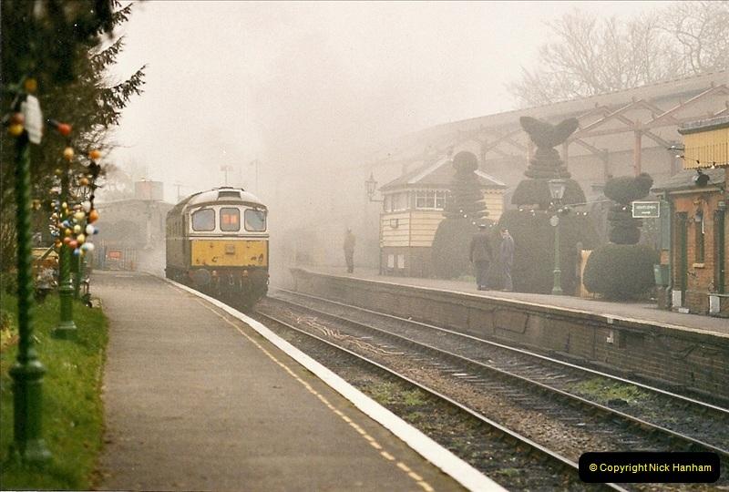 2004-12-13 Ropley Mid Hants Railway.  (1)087