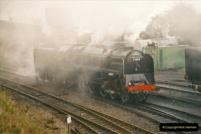 2004-12-13 Ropley Mid Hants Railway.  (5)091