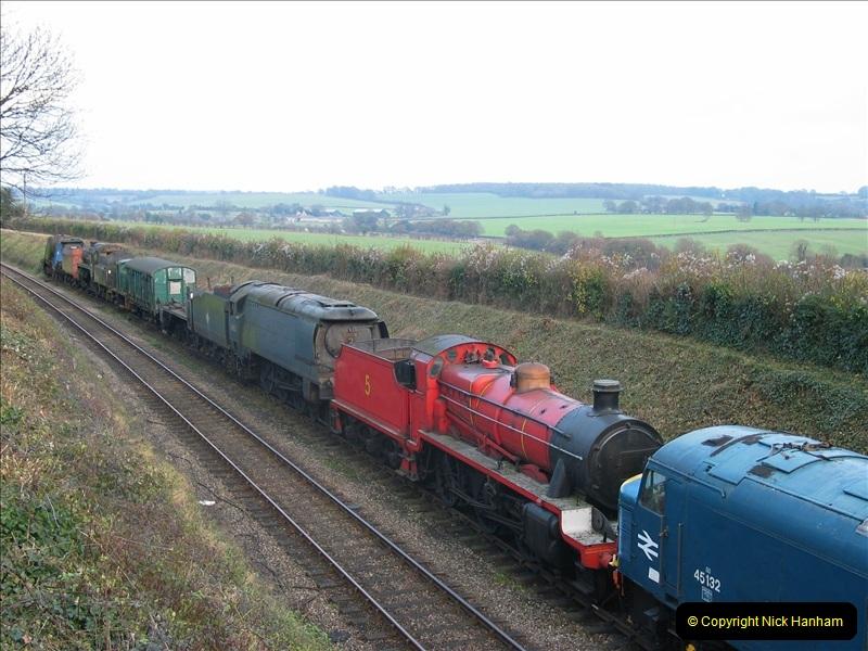 2005-12-14 Mid Hants Railway @ Ropley, Hampshire.  (1)102