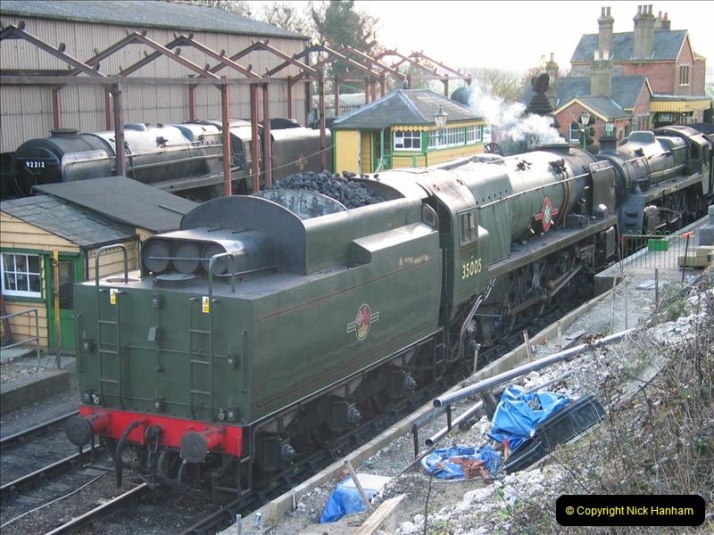 2005-12-14 Mid Hants Railway @ Ropley, Hampshire.  (6)107