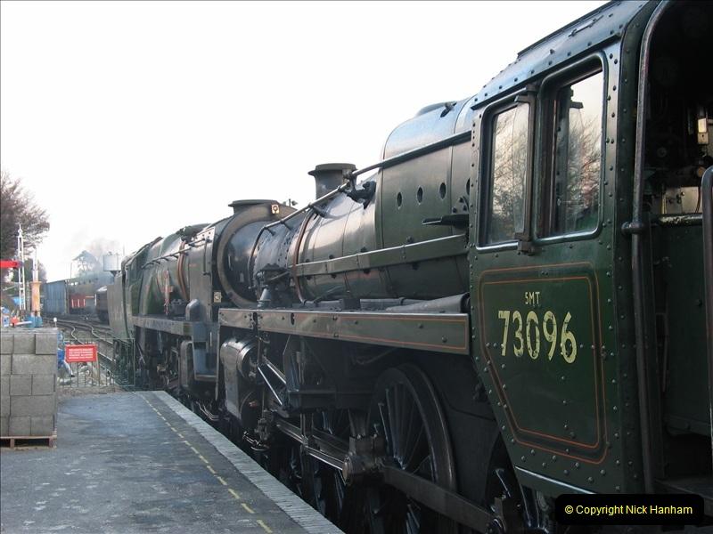 2005-12-14 Mid Hants Railway @ Ropley, Hampshire.  (8)109
