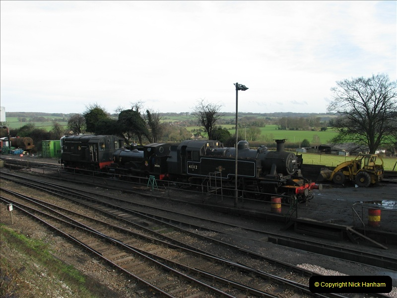 2007-02-15 The Mid Hants Railway, Ropley, Hampshire.  (15)137