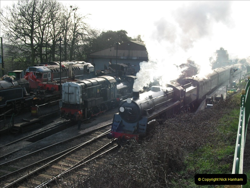 2007-02-15 The Mid Hants Railway, Ropley, Hampshire.  (2)124