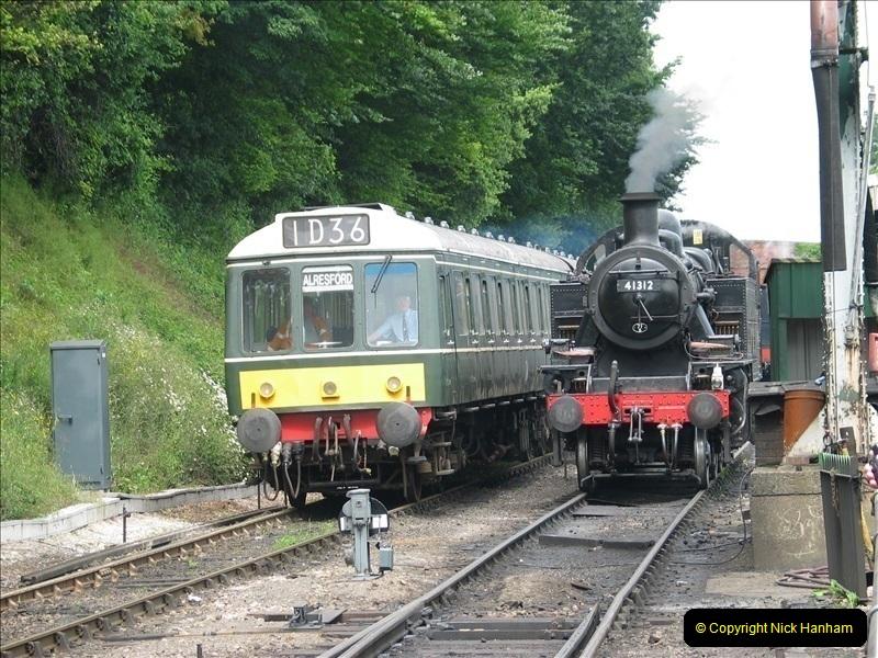 2007-06-07 @ The Mid Hants. Railway.  (15)156