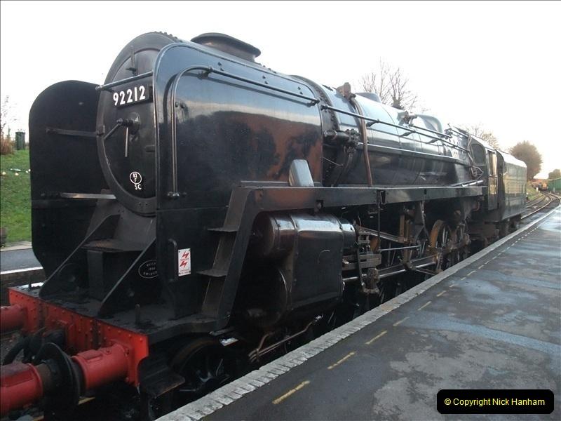 2009-11-30 Mid Hants Railway.  (9)255