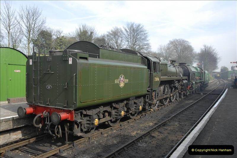 2011-03-24. Mid Hants Railway. (2)358