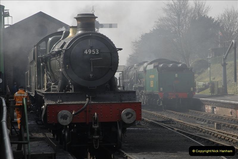 2011-03-24. Mid Hants Railway. (44)400