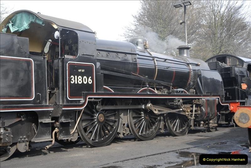 2011-03-24. Mid Hants Railway. (49)405