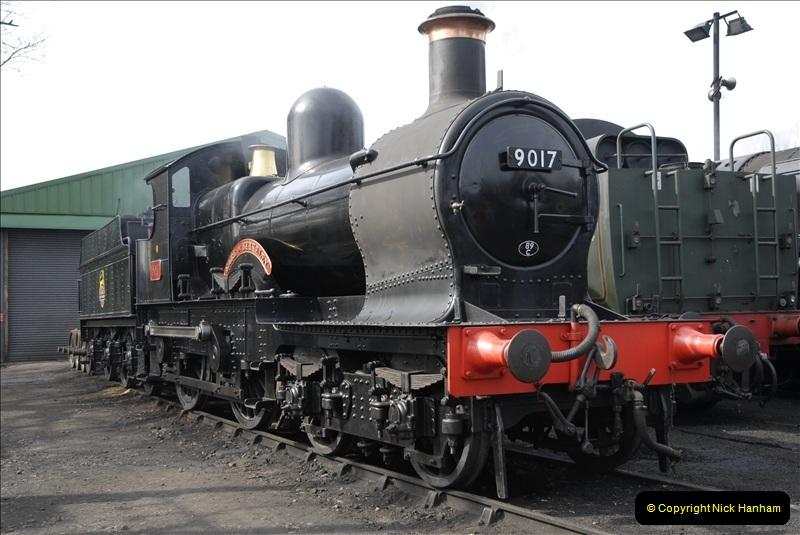 2011-03-24. Mid Hants Railway. (50)406