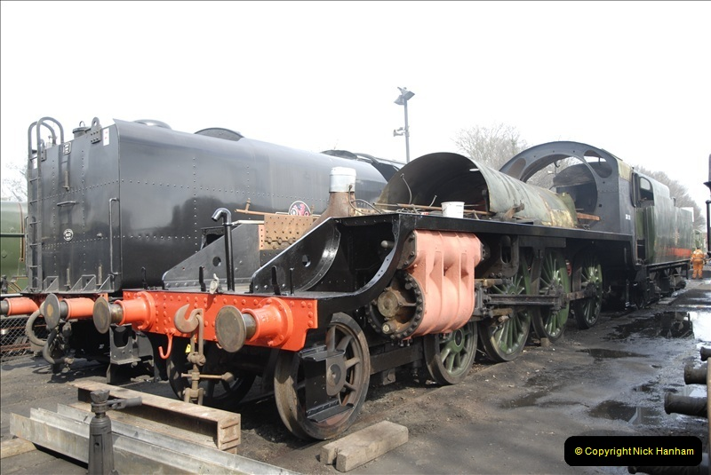 2011-03-24. Mid Hants Railway. (55)411