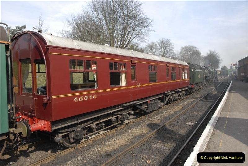 2011-03-24. Mid Hants Railway. (64)420