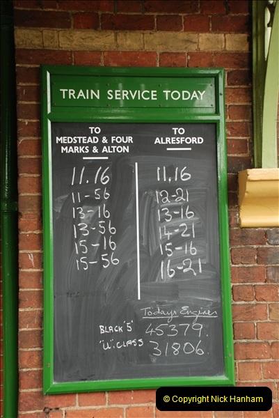 2011-08-15 Mid Hants Railway, Ropley, Hampshire.  (43)466