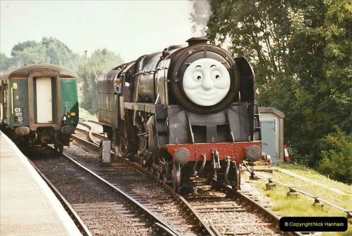 2003-08-12 Thomas week on the Mid Hants Railway.  (8)021