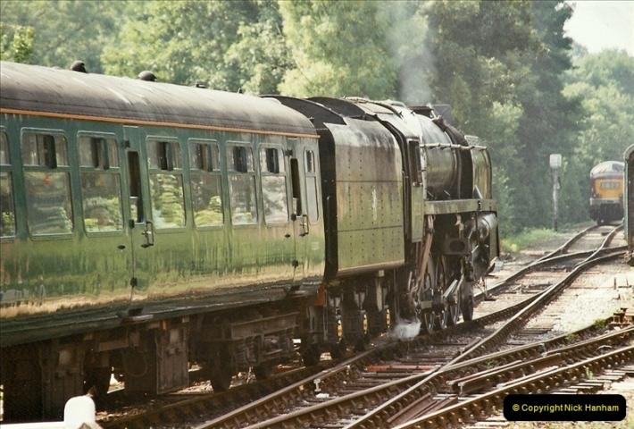 2003-08-12 Thomas week on the Mid Hants Railway.  (9)022