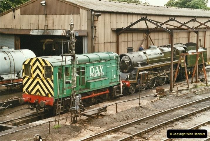 2004-08-02 The Mid Hants Railway.  (25)049