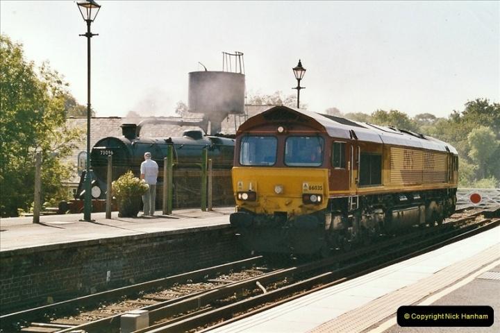 2004-09-08 The Mid Hants Railway.  (10)070