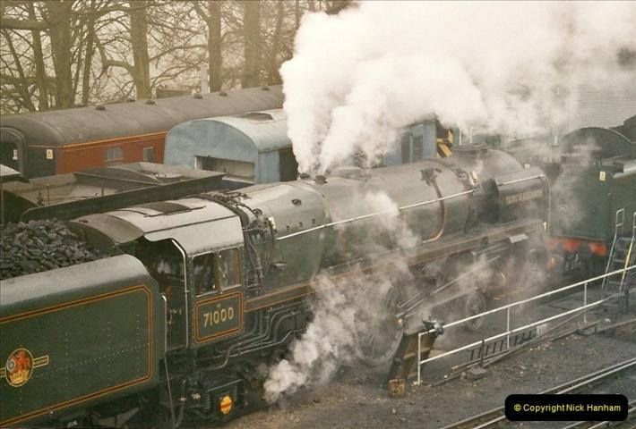 2004-12-13 Ropley Mid Hants Railway.  (10)096