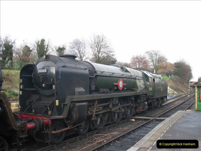 2005-12-14 Mid Hants Railway @ Ropley, Hampshire.  (10)111